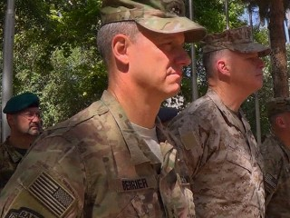 U.S. Troops Mark Memorial Day in Afghanistan