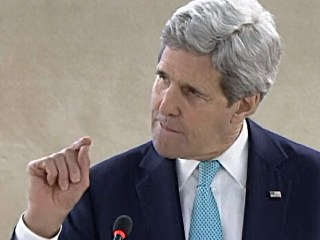 'Israel Obsession' Risks Human Rights Credibility, Kerry Says