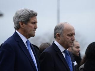 Secretary of State Visits Scenes of Paris Terror