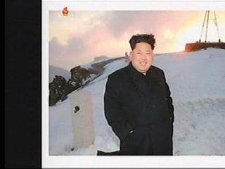 North Korean Television Reports Kim Jong-Un's 'Peak Appearance'