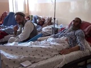 Kunduz Hospital Survivors Receive Treatment in Pule Khumri