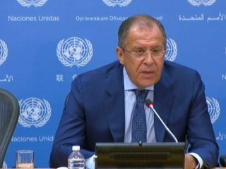 Airstrikes Aimed at Terrorists Only: Russia Foreign Minister