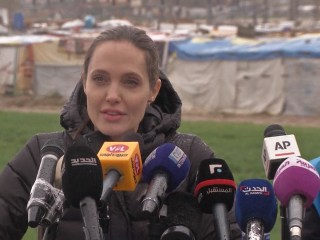 "Angelina Jolie: Syrian Refugee Situation ""Tragic and Shameful"""