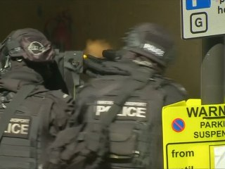 Police Conduct Counter-Terrorism Drills In London