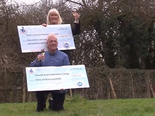Double Take - British Couple Scoop Another Million Pound Lottery