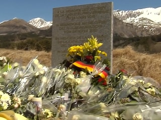 Spanish Couple Mourn Nephew at Crash Monument