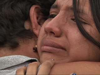 Tears Of Joy as Mexican Teen Reunited With Family