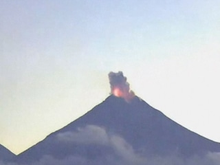 Watch: Mexico's 'Fire Volcano' Erupting