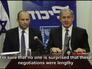 Netanyahu Signs Deal to Form Coalition Government
