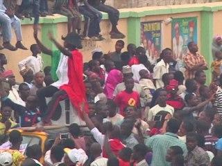 Celebrations in Nigeria following APC Election Win