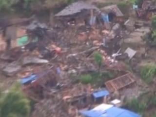 Aerial Video of Nepal's Earthquake Damage Around Kathmandu