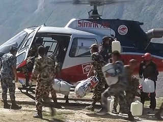 Remote Village Receives Quake Assistance More Than One Week On