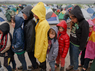 Rain Adds to Misery Facing Migrants, Refugees in Northern Greece