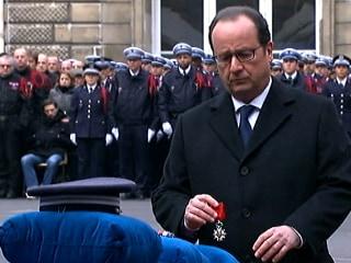 France Honors Police Killed in Paris Terror Attacks