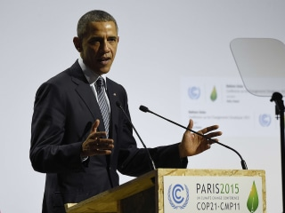 Watch President Obama's Speech to Paris Climate Conference In Full
