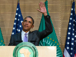I Could Win a Third Term, President Jokes to African Union