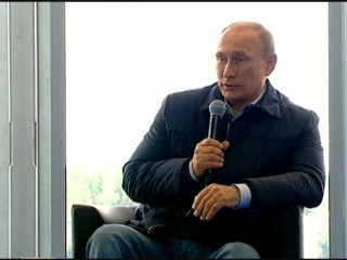 Putin: Kiev's Operations in E. Ukraine Like Nazi Siege