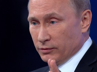Putin: Ukrainian 'Armed Coup D'Etat' Is Unacceptable