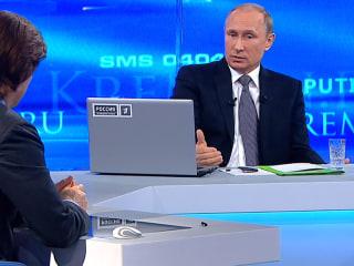 President Putin Denies He Is Rebuilding Russian Empire