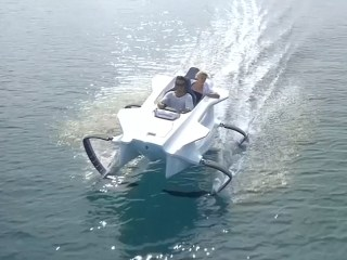 Slovenian Electric Watercraft Offers Thrills Without Spills