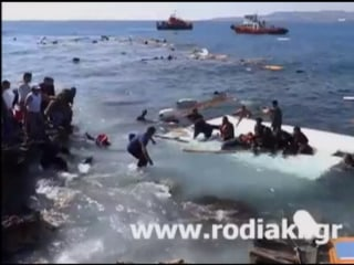 'Three Dead' as Migrants' Boat Runs Aground on Island of Rhodes