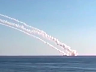 Watch Russian Sub Firing Cruise Missiles Against ISIS in Syria