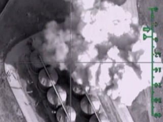 Russian Airstrikes Target ISIS-Held Oil Depots