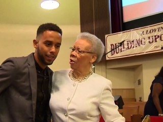 Anthony Sadler Receives Hero's Welcome at Sacramento Church