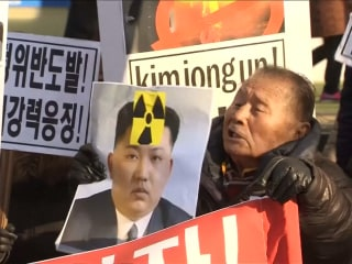North Korean Nuke Test Sparks Anger on Streets of Seoul