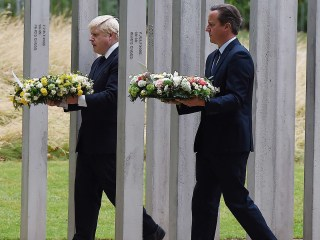 Wreaths Laid to Mark 10th Anniversary of London 7/7 Bombings