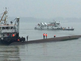 Cruise Ship Capsizes, Sinks in China's Yangtze River