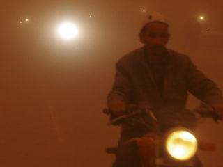 Relentless Sandstorms Sweeping Across Xinjiang Region