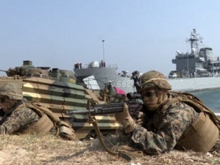 Hitting the Beach: Watch U.S. and South Korean Military Exercise