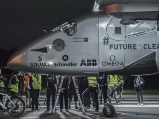 Solar-Powered Plane Takes Off From Japan Bound For Hawaii