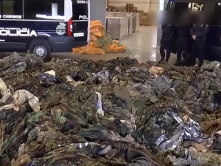 20,000 Military Uniforms Bound for Terror Groups Seized