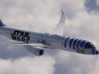 Design for 'Star Wars' Themed Jet Unveiled by Japanese Airline