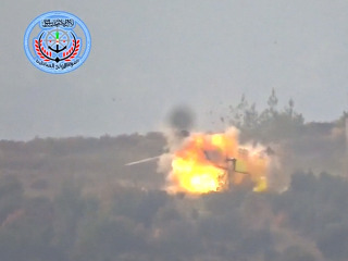 Syrian Rebels Purportedly Destroy Russian Helicopter