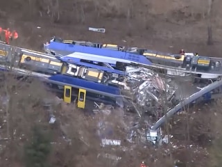 German Commuter Trains in Deadly Head-On Collision