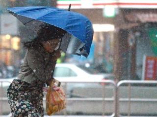Typhoon Dujuan Crashes Into Taipei, Taiwan