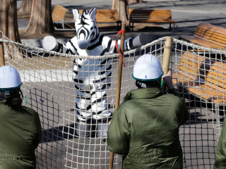 On The Front Line at Zoo's 'Escaped Animal' Drill