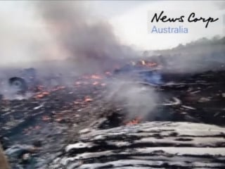 Video Shows Immediate Aftermath of MH17 Crash