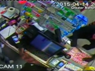 Caught On Camera: Robber Picks on the Wrong Store Clerk