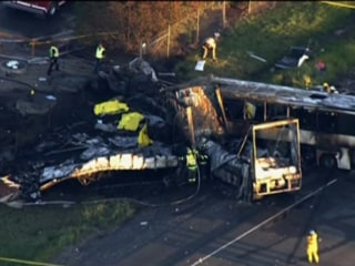 California Tour Bus Crash Kills Nine