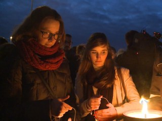 Brussels Airport Workers Hold Vigil For The Fallen