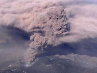 Volcanic Smoke From Japan's Mount Aso Spreads Ash