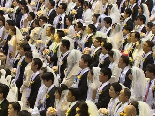 Thousands Tie The Knot at Unification Church Ceremony