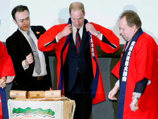 Prince William Hits the Hard Stuff