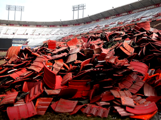 Demolition of San Francisco's Candlestick Park Begins