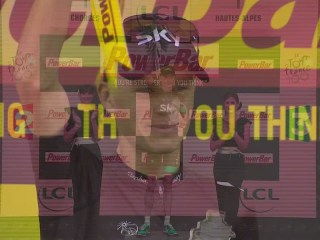 Welcome back to the podium Mr. Froome