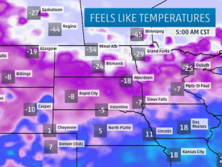 Arctic Blast Bears Down on Plains and Central U.S.